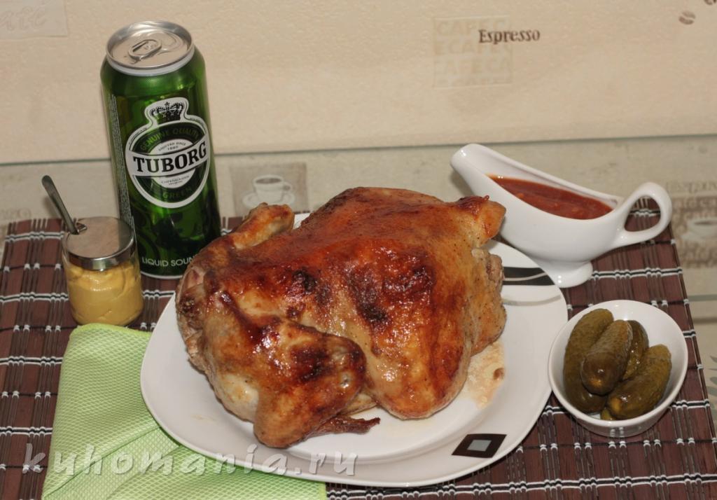 Блюда на вертеле в духовке рецепт