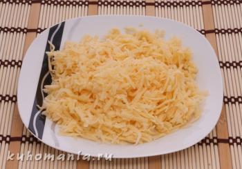 натертый сыр - фотография пошагового приготовления блюда Салат