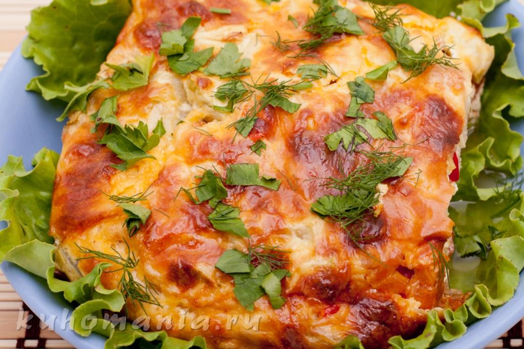 Запеканка из кабачков с сыром и сметаной в духовке рецепты