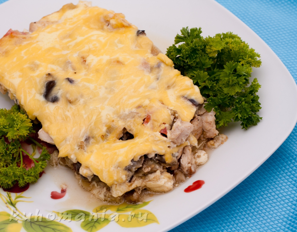 Рецепт вторых блюд с мясом в мультиварке