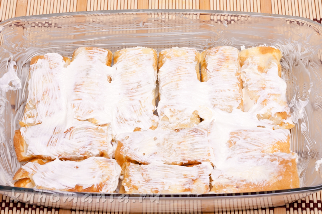 блины запеченные в сметане в духовке рецепт