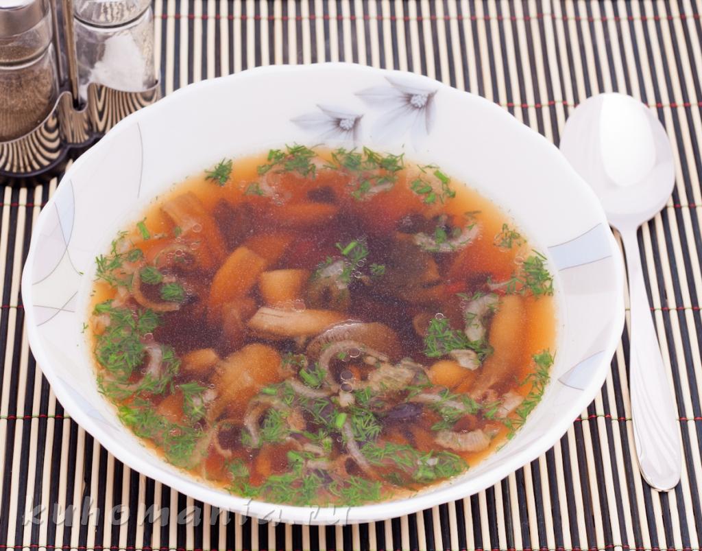 Суп с картофелем и баклажанами рецепт