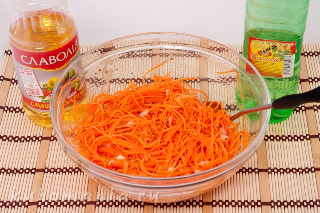 Как сделать корейскую морковь без уксуса в домашних условиях рецепт