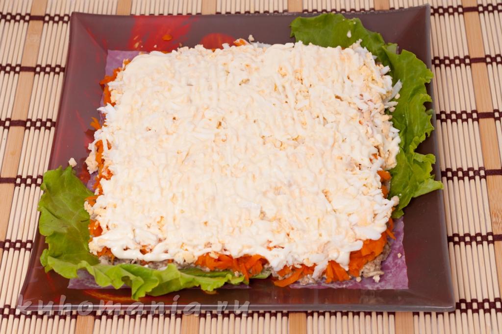 Печеночный салат рецепты с фото