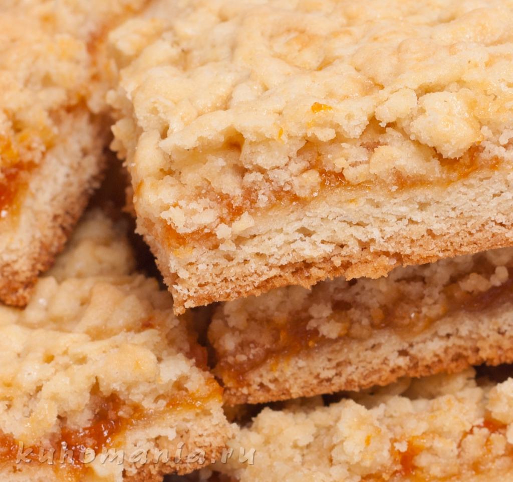 Пирог с абрикосовым вареньем / Пироги и пирожки / TVCook 75