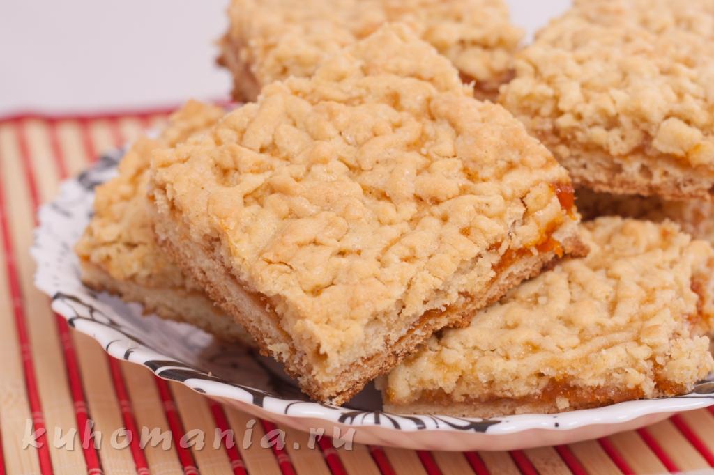 Пирог с абрикосовым вареньем / Пироги и пирожки / TVCook 34