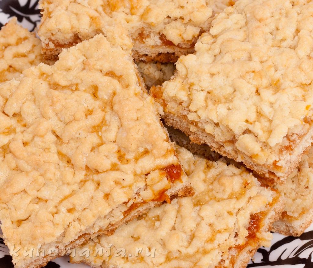 Пирог с абрикосовым вареньем / Пироги и пирожки / TVCook 90