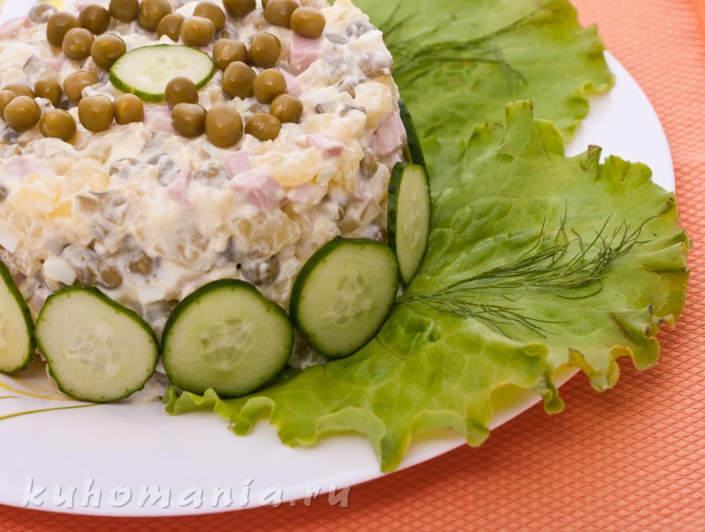 Салат оливье, рецепт